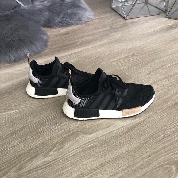 60ca23b99 adidas Shoes - Pre loved adidas NMD size 7 Black  tan